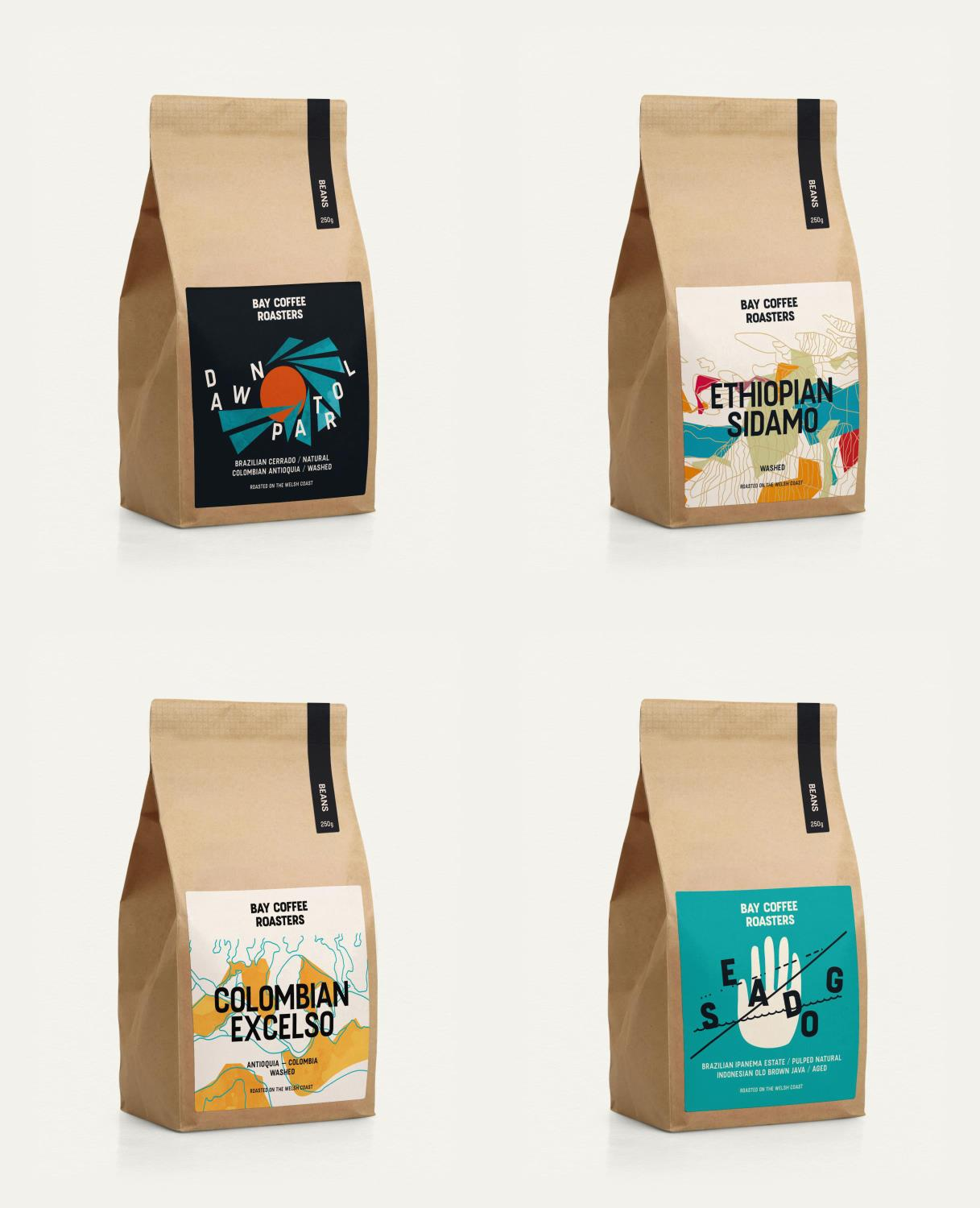 Four Bay Coffee Roasts for under £20